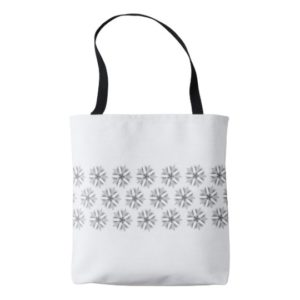 Kaleidoscope Flower Tote Bag
