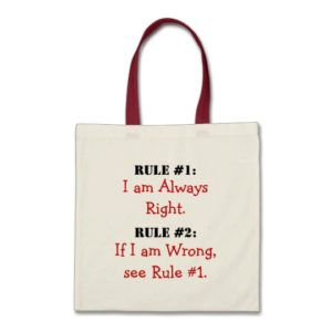 The Rules Tote Bag